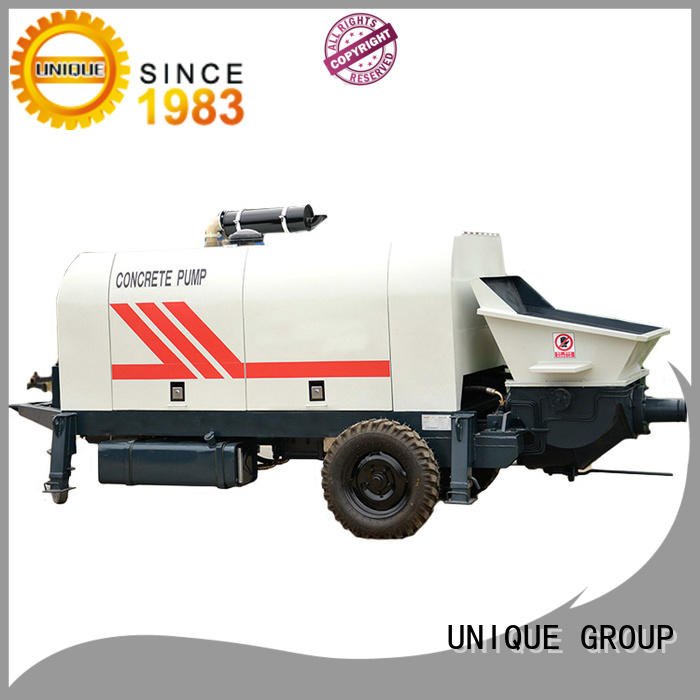 UNIQUE concrete pumping machine online for roads