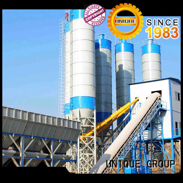 UNIQUE ready concrete batching plant price at discount for building