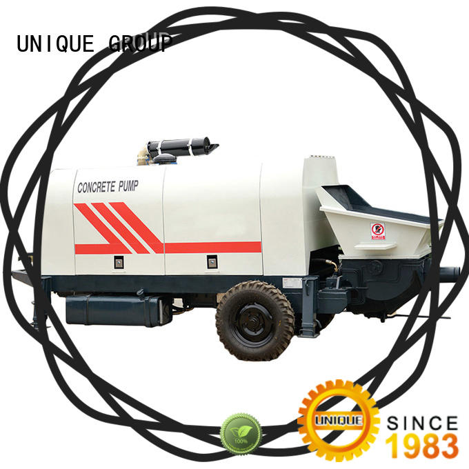UNIQUE concrete pumping machine directly sale for roads