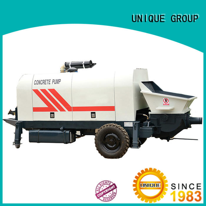UNIQUE pump concrete pumping equipment manufacturer for water conservancy