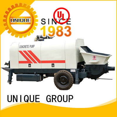 UNIQUE high quality concrete pump with mixer pump for water conservancy