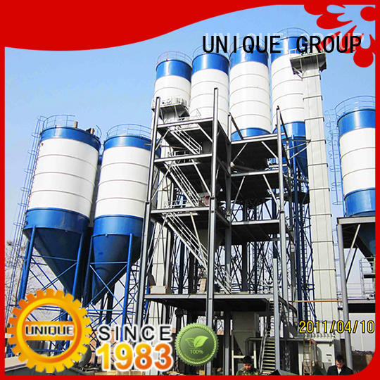full computer control dry mix concrete plant simple process for plant
