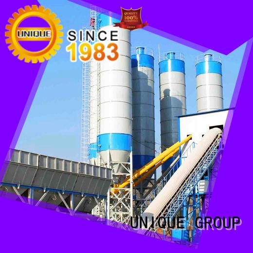 commercial mobile concrete plant supplier for building
