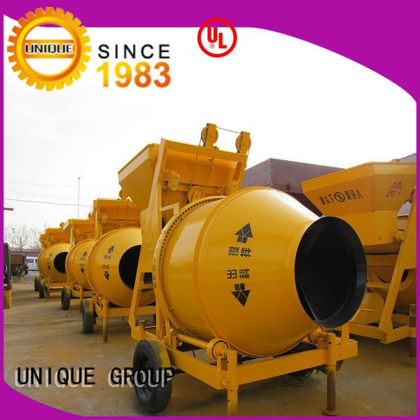 UNIQUE concrete cement batching plant with discharging system