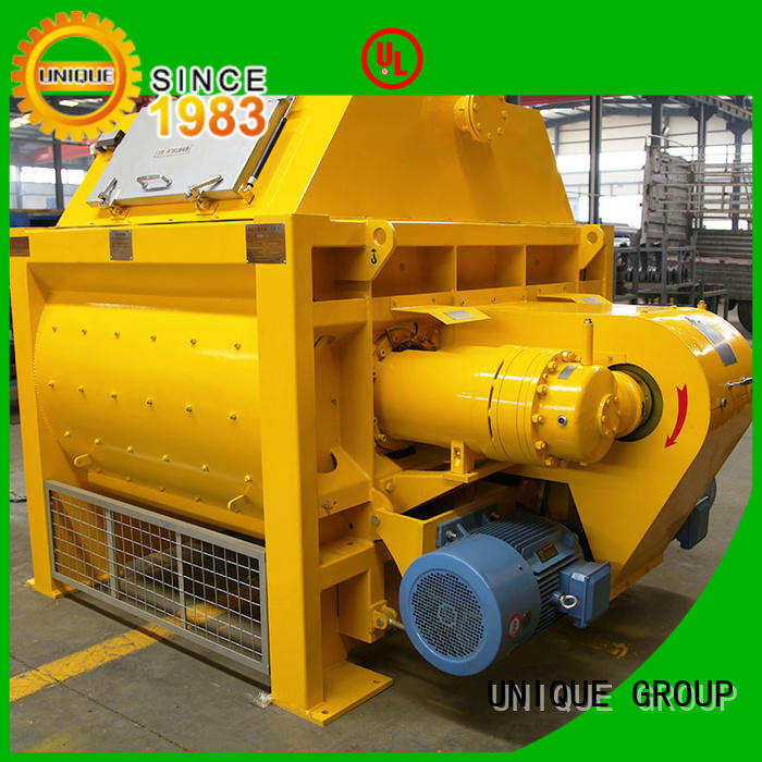 UNIQUE higher efficiency concrete mixer south africa with water supply system for project