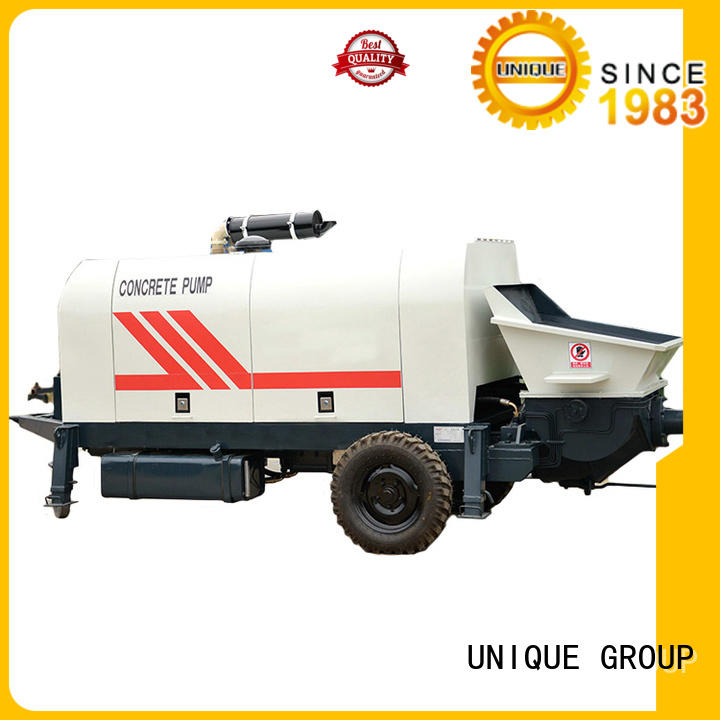 stable concrete pump trailer manufacturer for water conservancy