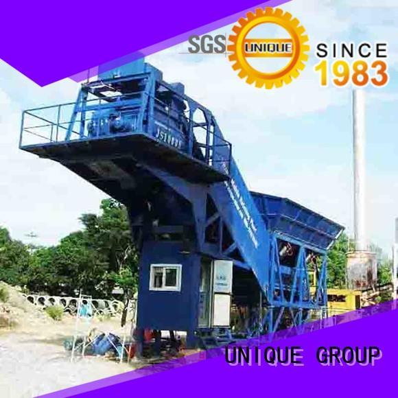 UNIQUE stable concrete manufacturing plant supplier for road