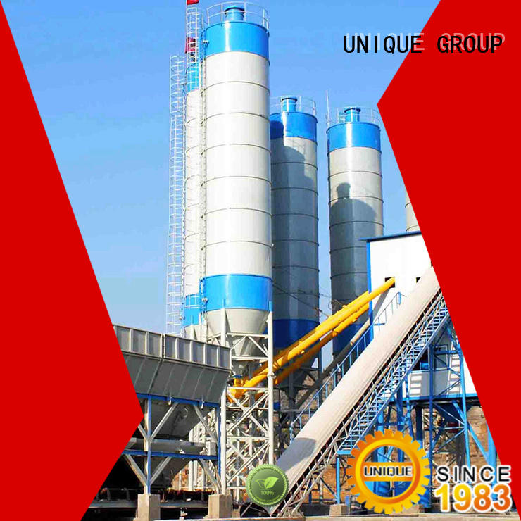 UNIQUE efficient concrete batching plant manufacturer for air port