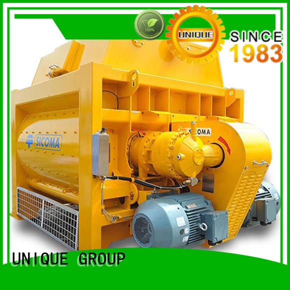 easy use concrete mixer machine shaft with discharging system for hard-dry concrete