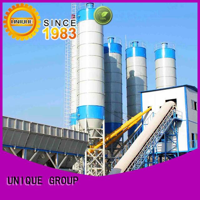 UNIQUE mix mobile concrete plant at discount for building