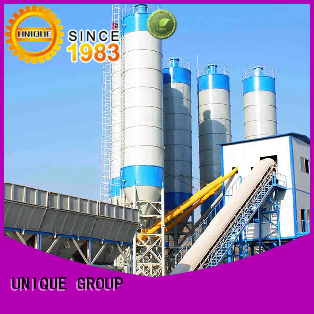 UNIQUE commercial concrete batching mixer supplier for air port