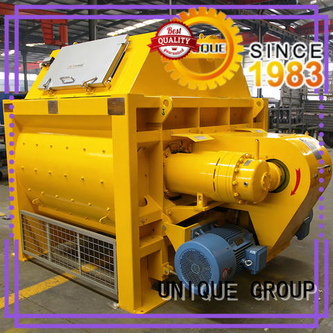 UNIQUE concrete mixer for sale with water supply system for concrete products