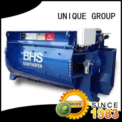 UNIQUE mixing concrete mixing plant supplier