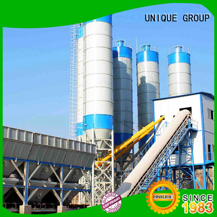 engineering concrete batching mixer manufacturer for sea port