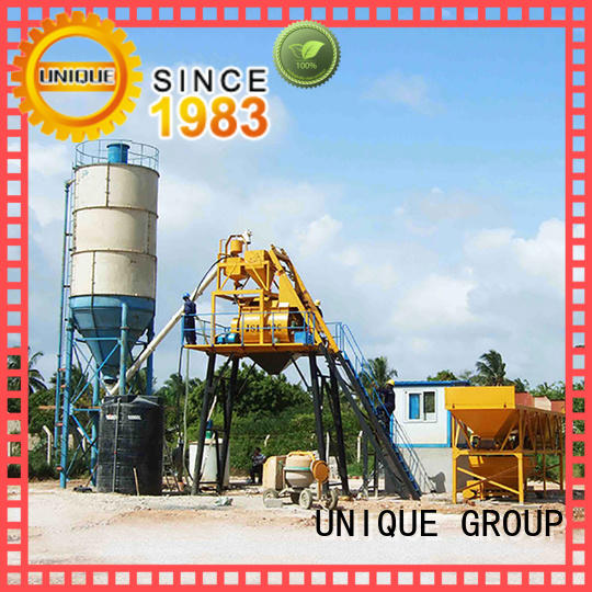 commercial mobile batching plant supplier for road
