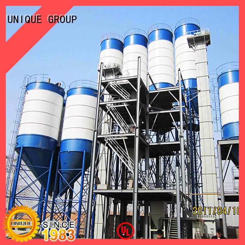 UNIQUE compact structure dry mortar plant factory sale for plaster