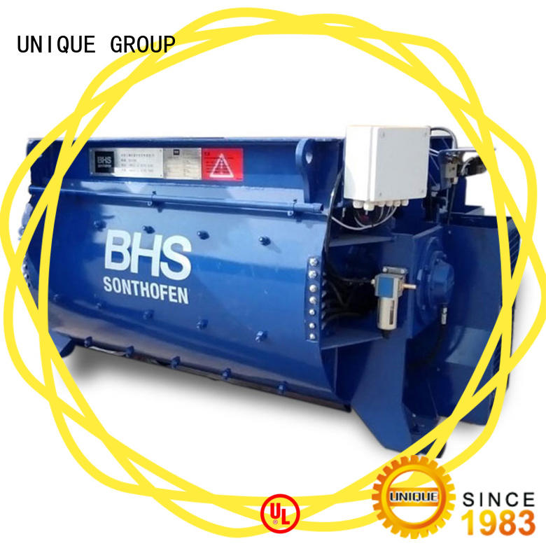 UNIQUE stronger concrete mixer price with feeding system