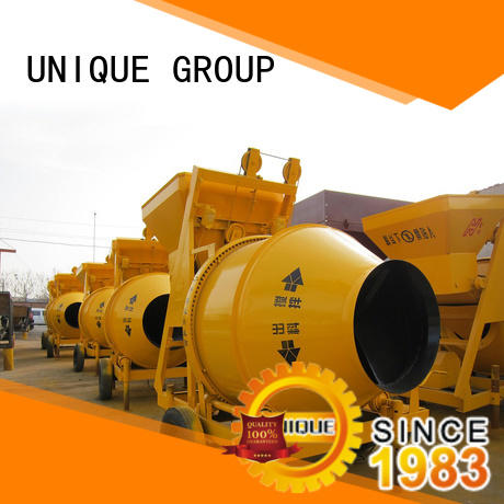 UNIQUE stronger concrete mixer for sale with discharging system