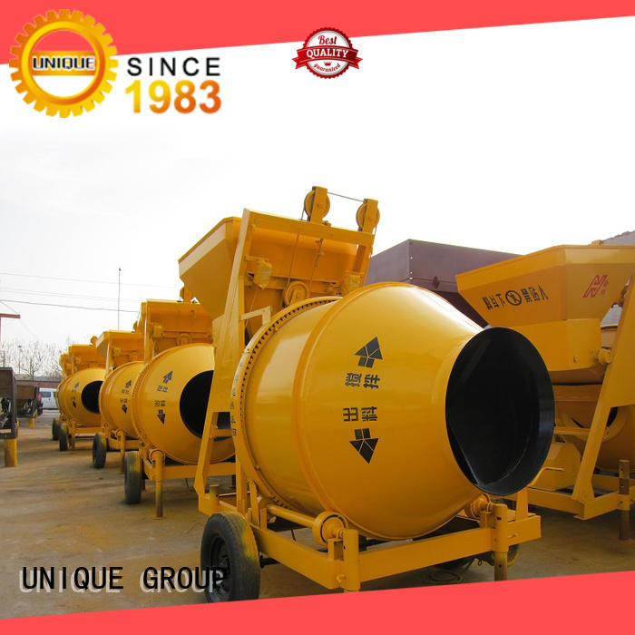 UNIQUE easy use sicoma mixer with water supply system for light aggregate concrete