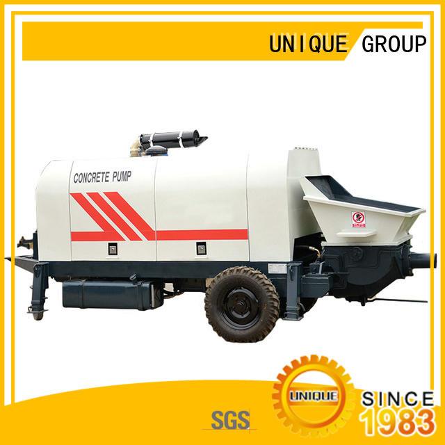 UNIQUE mixer concrete mixer pump supplier for railway tunnels