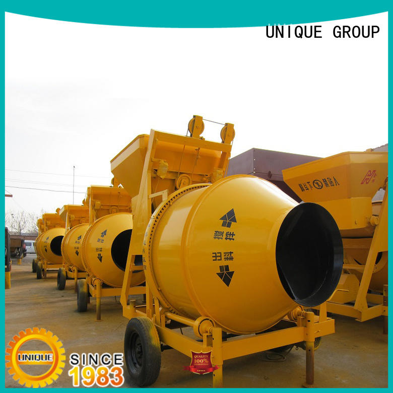 stronger cement mixer machine plant with discharging system for hard-dry concrete