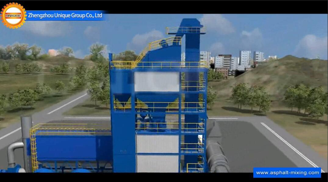 UNIQUE Asphalt Mixing Plant