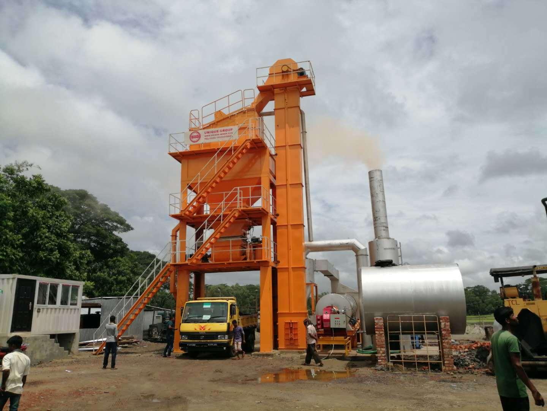 LB1000 Asphalt Mixing Plant in Bangladesh