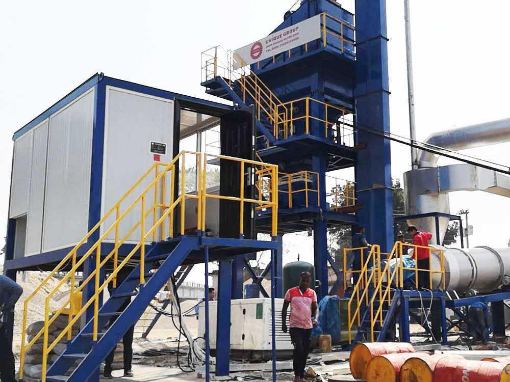 LB800 Asphalt Plant in Bangladesh