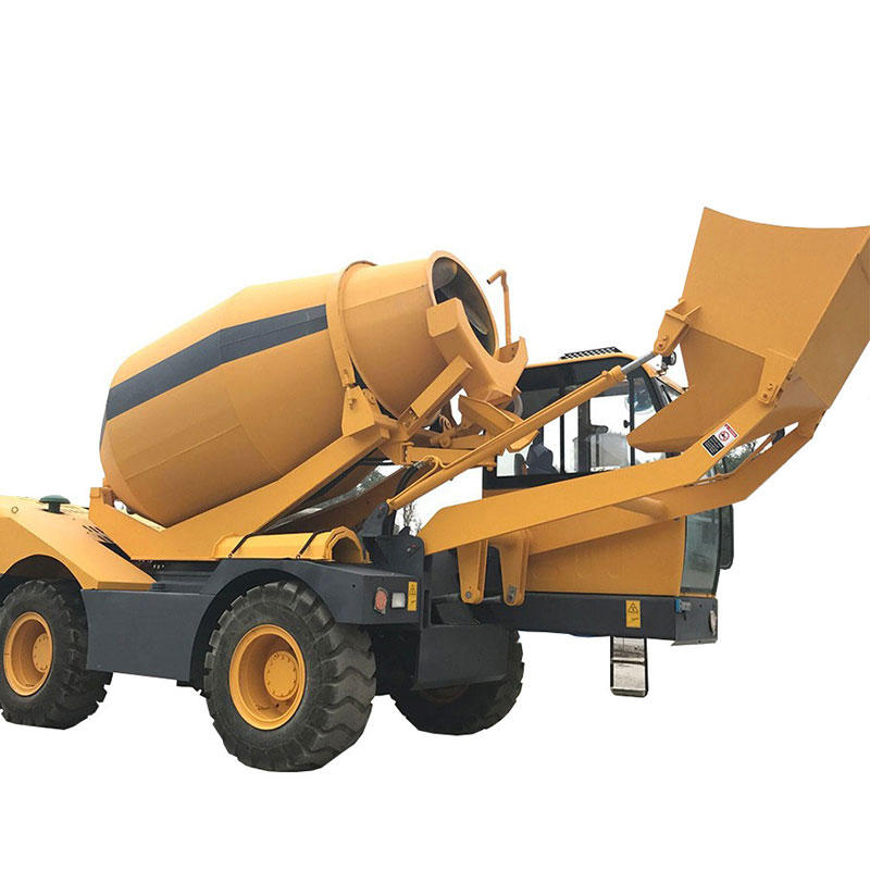 Self Loader Concrete Mixer (1.6-4.5m3)