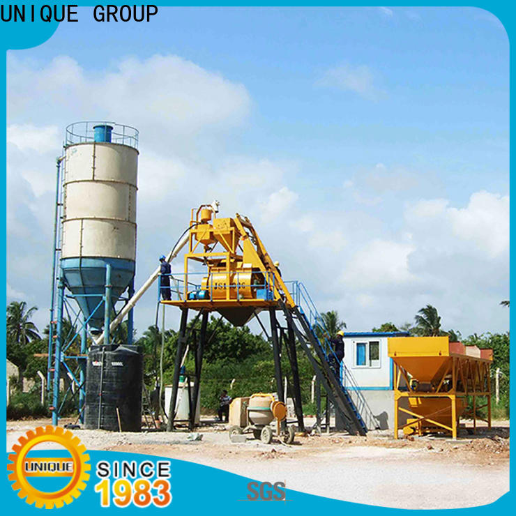 engineering concrete batching plant supplier for building