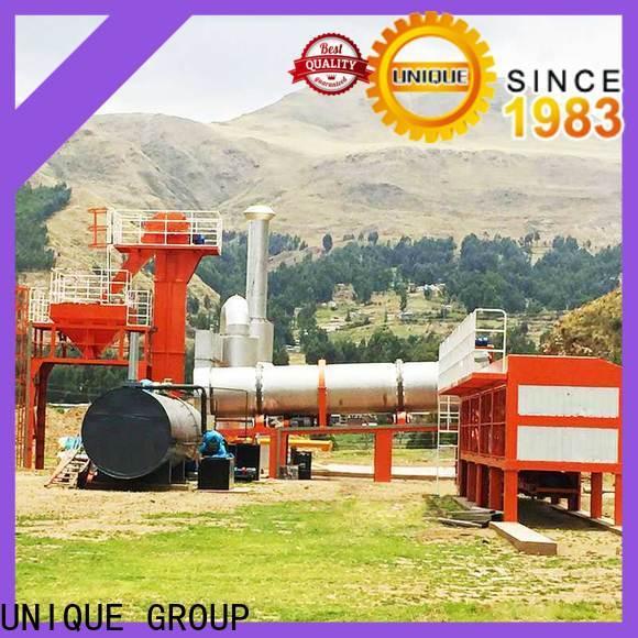 UNIQUE asphalt concrete mixing plant supplier for city road