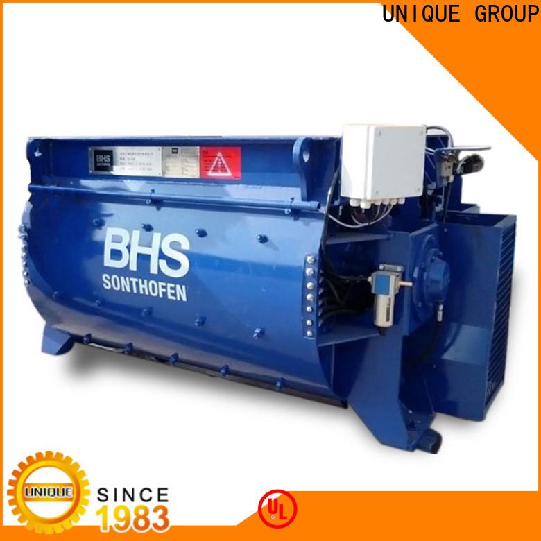 UNIQUE cement mixer machine supplier