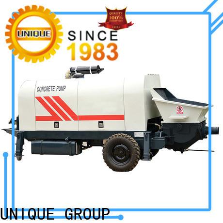 UNIQUE high quality concrete pump online for roads