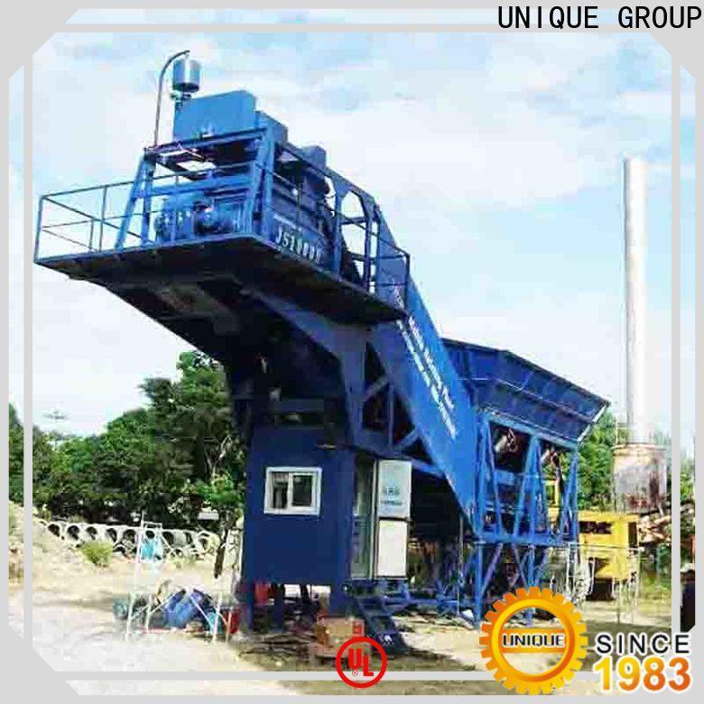 UNIQUE ready mix plant supplier for sea port