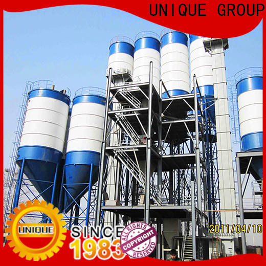 UNIQUE dry mix concrete plant factory sale for plant
