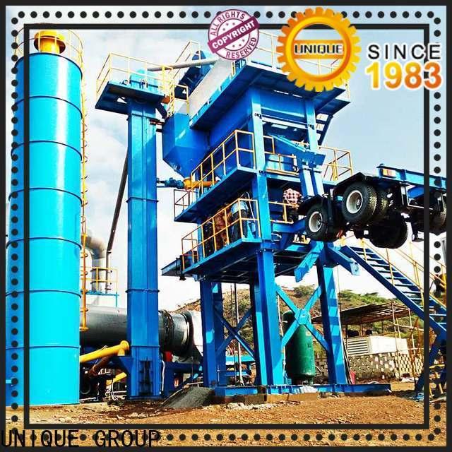 UNIQUE continuous asphalt batching plant factory price