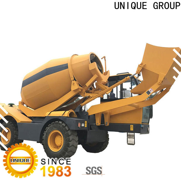 UNIQUE cement mixer truck metering for project