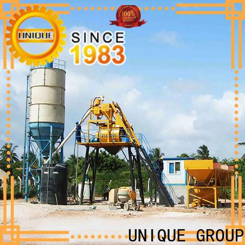 UNIQUE batching plant at discount for building