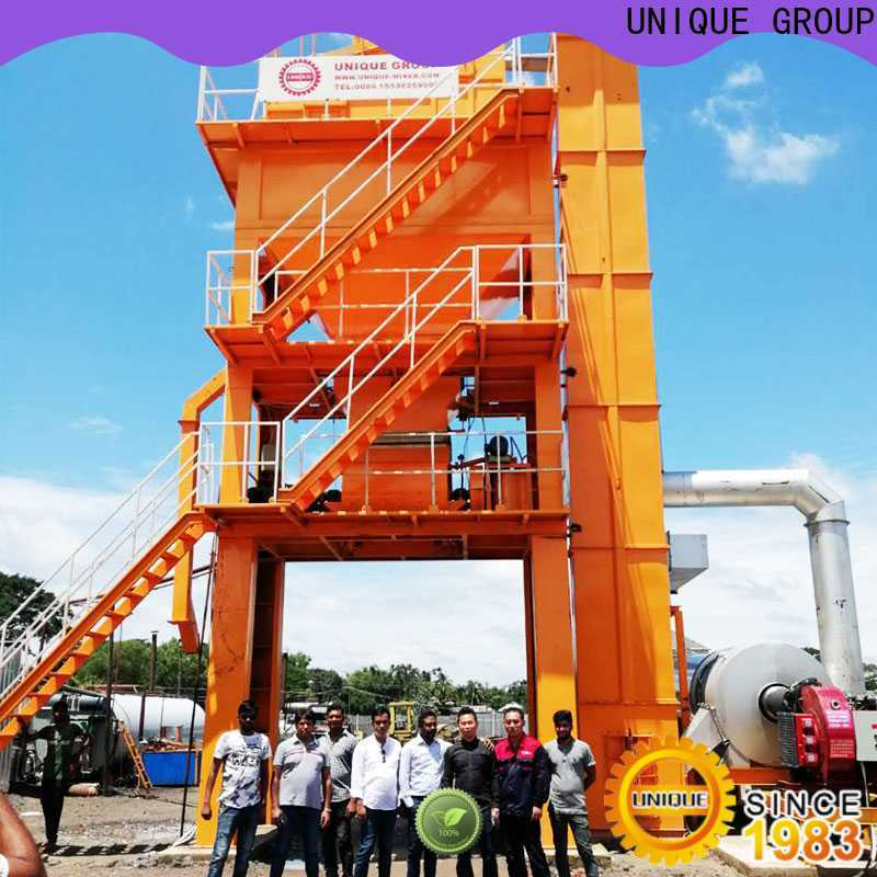 professional asphalt plant supplier