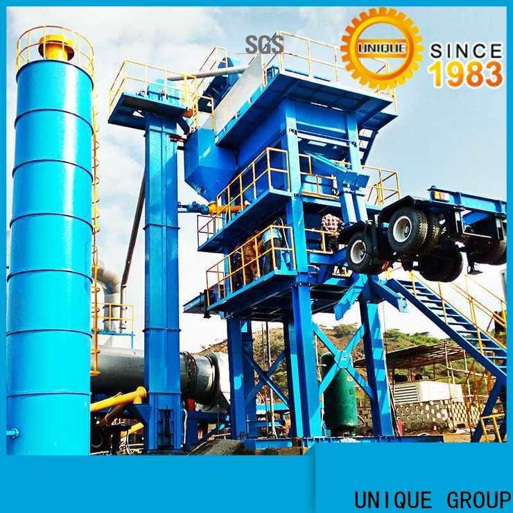 UNIQUE batch asphalt batch mix plant factory price for parking lot