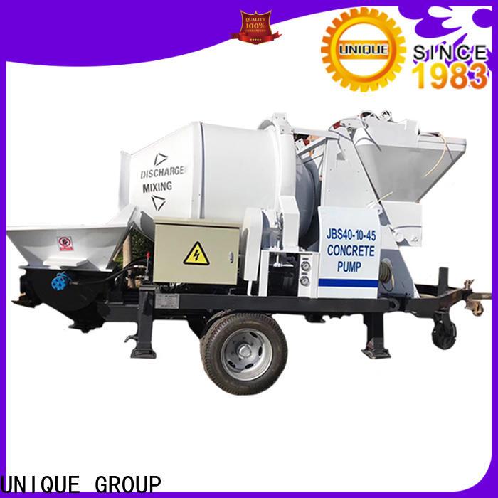 UNIQUE stable concrete pumping equipment online for water conservancy