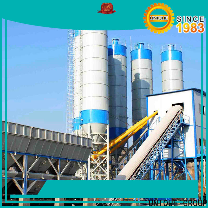 commercial mobile batching plant manufacturer for air port