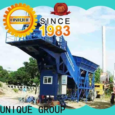 UNIQUE big capacity concrete batching plant supplier for bridges