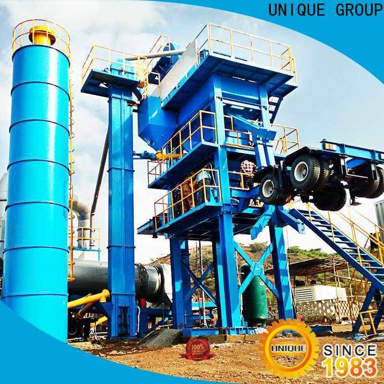 UNIQUE asphalt batching plant supplier