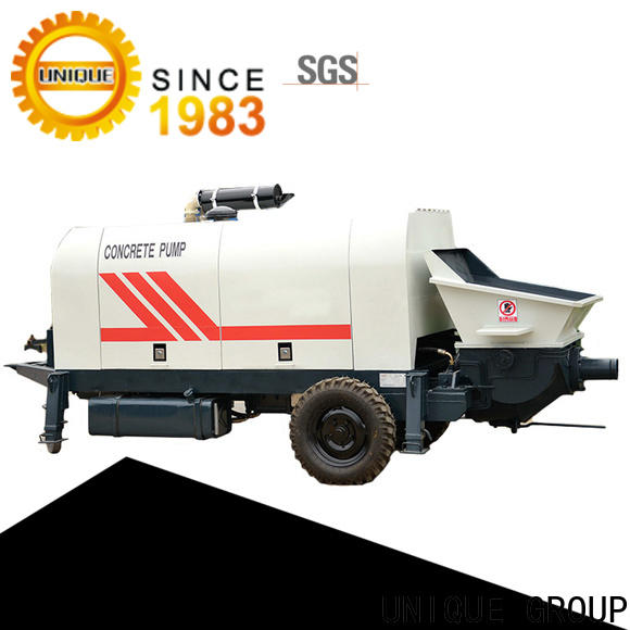UNIQUE concrete mixer pump online for roads