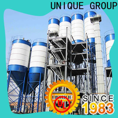 UNIQUE compact structure dry mix plant factory sale for mortar