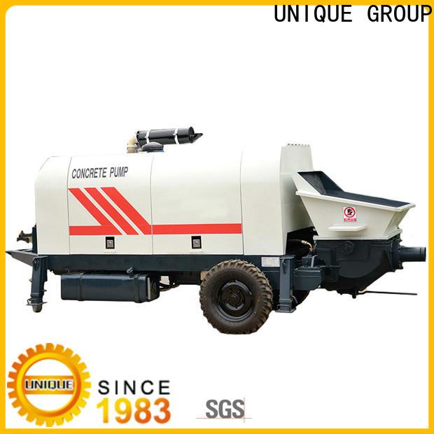 professional concrete mixer pump manufacturer for railway tunnels