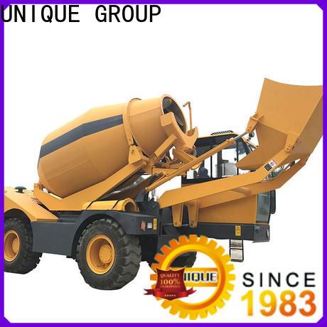 automatic concrete mixer truck metering for construction site