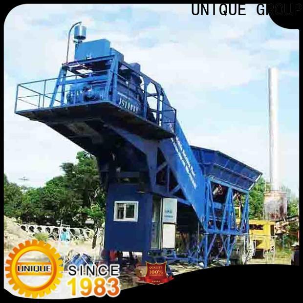 UNIQUE concrete batching plant price manufacturer for building