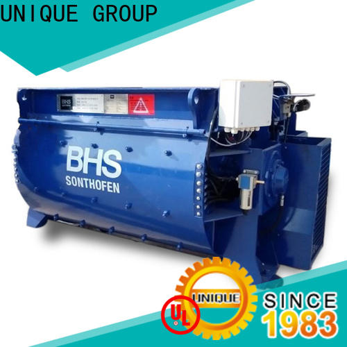 UNIQUE easy use concrete mixer machine with water supply system for project